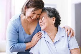 Cuidador Alzheimer familia
