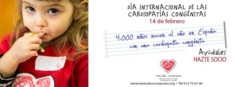 Día Mundial Cardiopatías Congenitas Saludentuvida.com