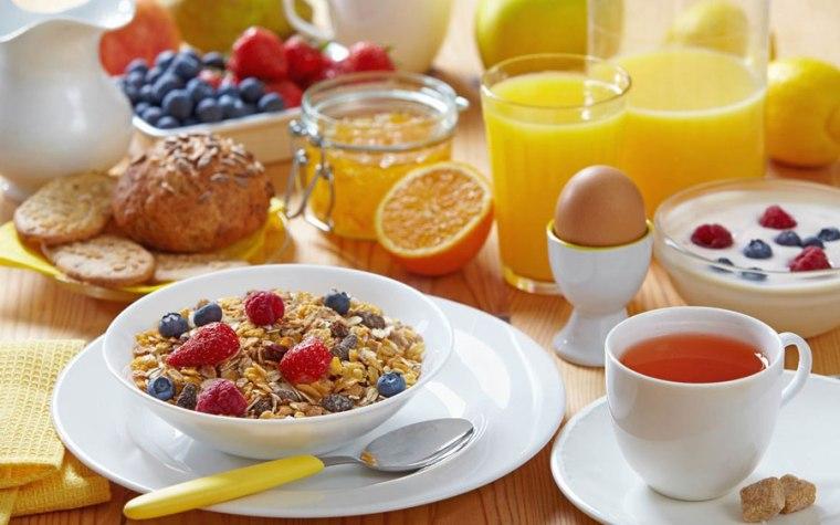 Desayuno para combatir Astenia Primaveral