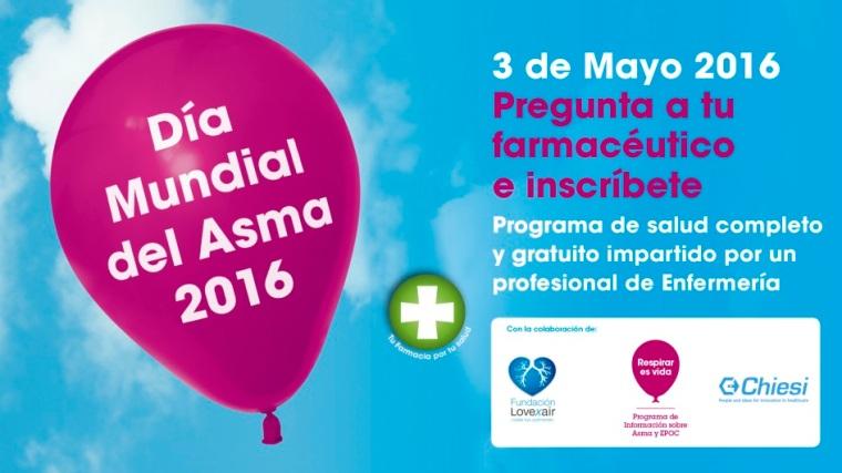 Cartel D+¡a Mundial del Asma
