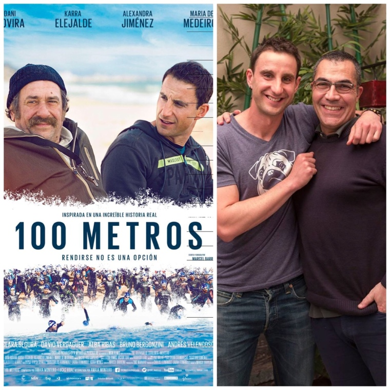 100 METROS EM Ramón Arroyo y Dani Rovira