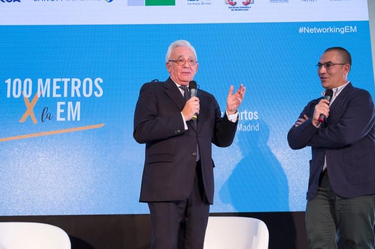 NetworkingEM Consejero de Sanidad y Ramón Arroyo