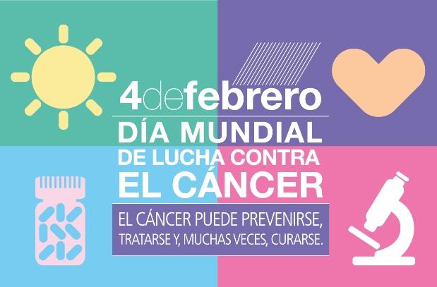 Día Mundial del Cáncer Saludentuvida.com