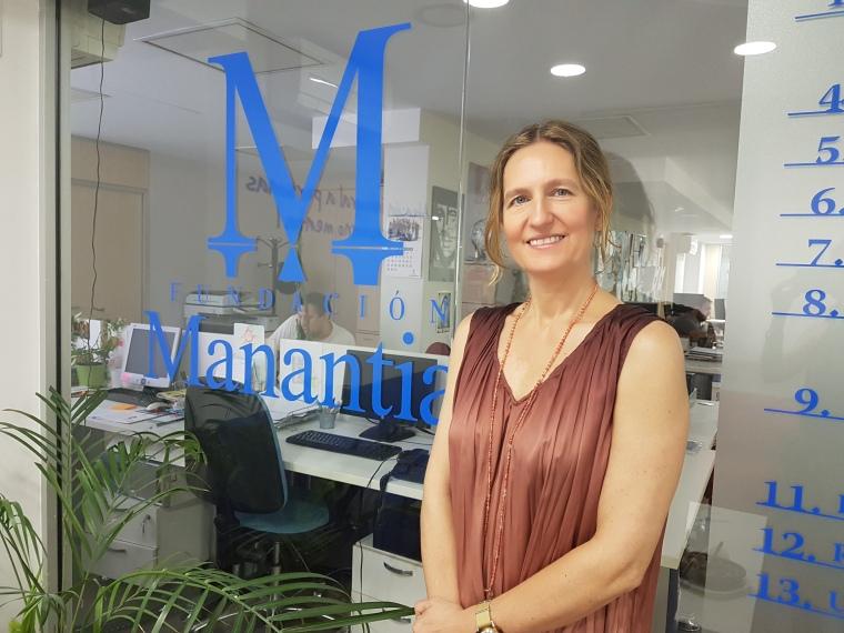 Helena de Carlos Muñoz- Portavoz Fundación Manantial