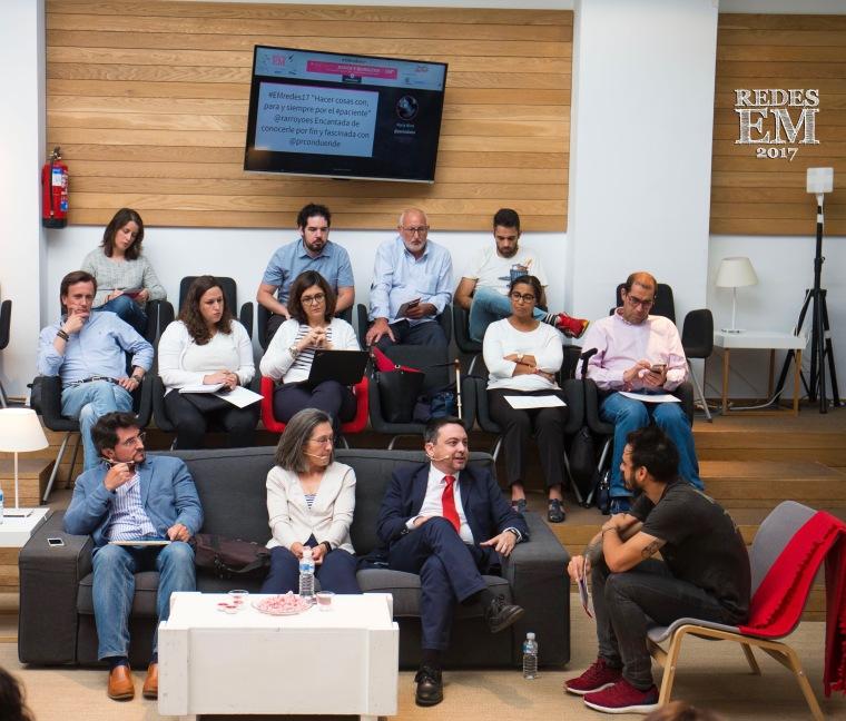 #EMredes17 Conversaciones en RRSS de EM