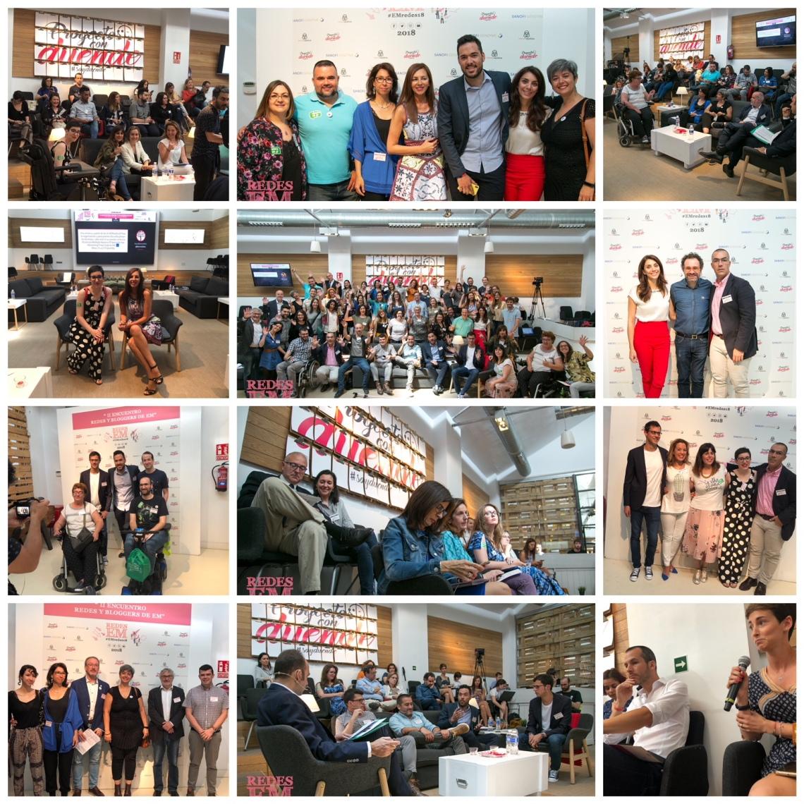 II Encuentro de Redes y Esclerosis Múltiple EMredes18